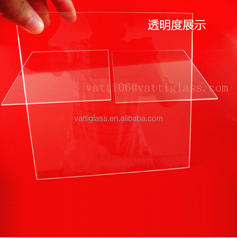 China Optical Quartz Plate JGS1 JGS2 JGS3 Quartz Glass Filter UV Quartz Plate