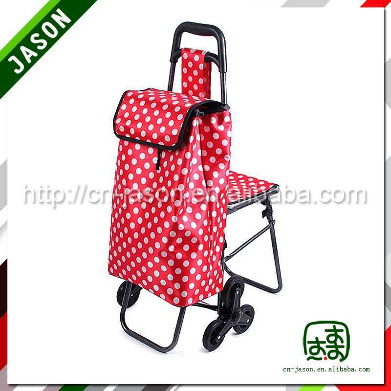 metal shopping trolley child car seat travel backpack bag