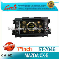 Wholesale Car Multimedia Player for Mazda CX-5 with GPS Navigation ipod TV SWC 6 disc 3G fast delivery