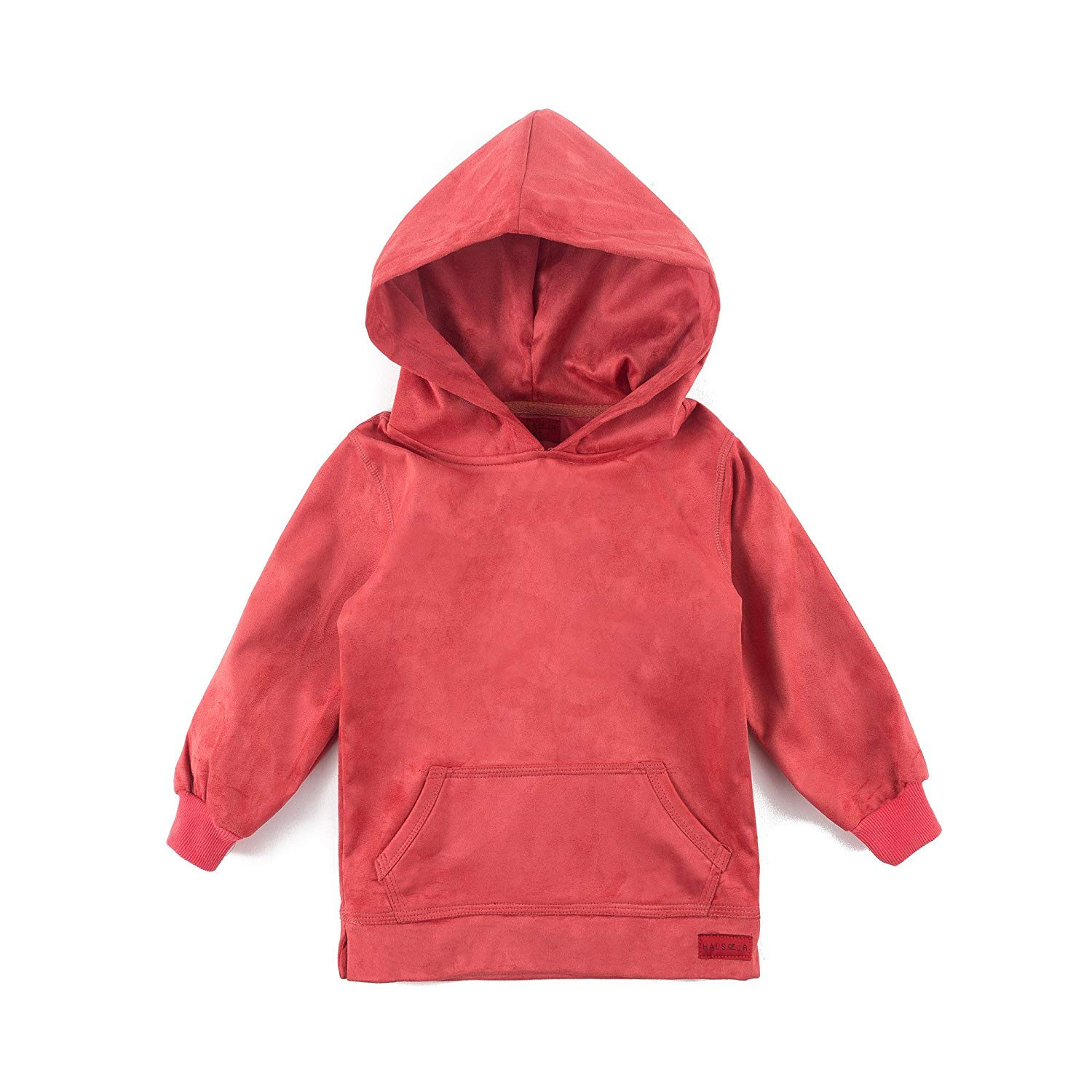 13ad03847 Get Quotations · Newton Suede Hoodie (Coral Suede)-Unisex