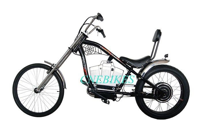 2016 New Adult Pedal Harley Chopper Bicycle 500w /chopper Bike ...
