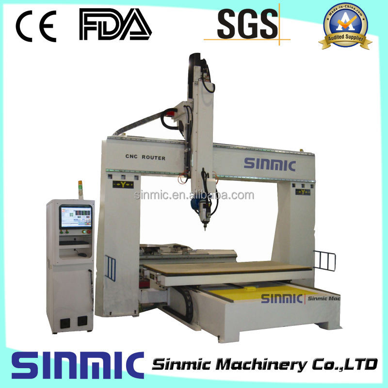Sinmic 5 Axis Cnc Wood Carving Machine/5 Axis Wood Carving Cnc ...