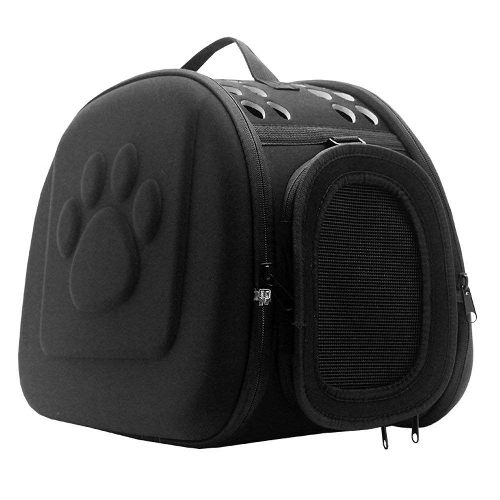 c2a5a74c33f Get Quotations · Vedem Pet Collapsible Carrier Duffle Bag EVA Lightweight  Travel Tote Bag for Dogs Cats Rabbits
