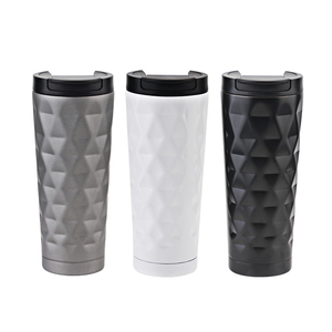 500ml Travel Mug Thermos Coffee Mug Cup With Lid Travel Coffee Mug Vaccum Coffee Tumbler