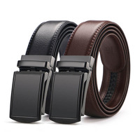 2019 new design fashion men belt leather with metal buckle