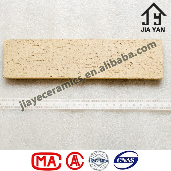 Thermal insulation building material clay wall tiles