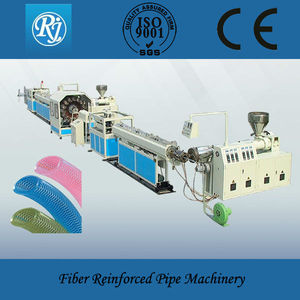0.5-2 inch pvc reinforced hose extrusion machine line