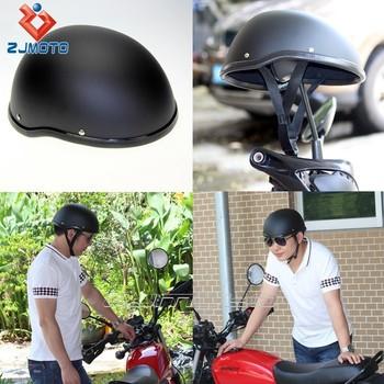 Custom Matte Black Helmet Wholesale Abs Motorcycle Skull Cap Novelty