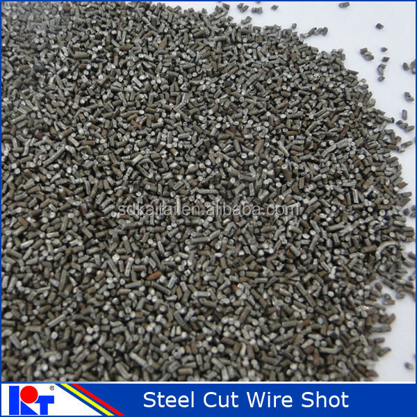 spare parts descaling abrasive :steel cut wire shot CW1.0 with high efficiency