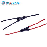 TUV Approved Wire Rope Solar Cable Assembly Y Type PV Branch Cable Lead