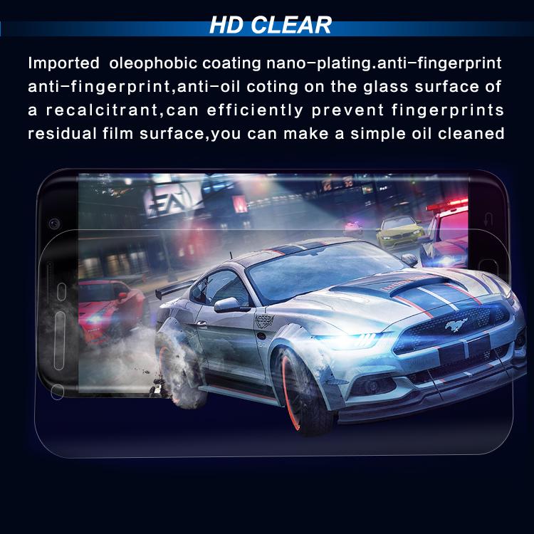 Bulk Cheap Nano Tpu for Samsung Galaxy S7 Edge Screen Protector