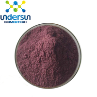 100% Natural pigments Polyphenols Extract of Acai berry