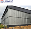 low cost pre engineered steel structure multi-span light steel structure house