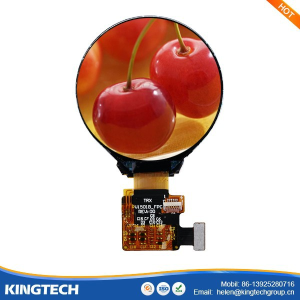 1.5 Inch 320x320 Round Lcd Monitor Panel