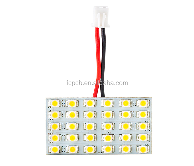Shenzhen MCPCB factory Aluminum PCB Circuit Board 2835 LED SMD 5630