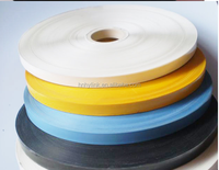 White color 10mm*1000m hot coding foil for cable black hot stamp foil Date coding foil