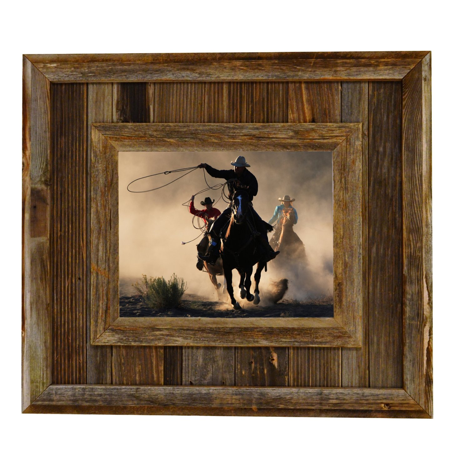 Buy Durango Rustic Barnwood Picture Frame 8x10 Opening Western Aged