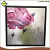 Handpainted flower wholesale decorative picture frame with low price