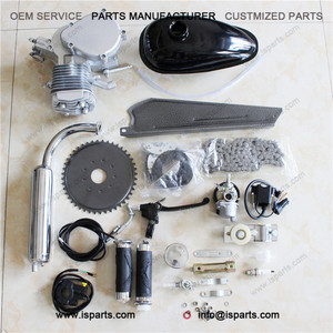 80CC 2-Stroke Gas Engine Motor Kit for Build Motorized Bicycle