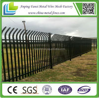 Wrought ornamental iron spearhead iron fence finials