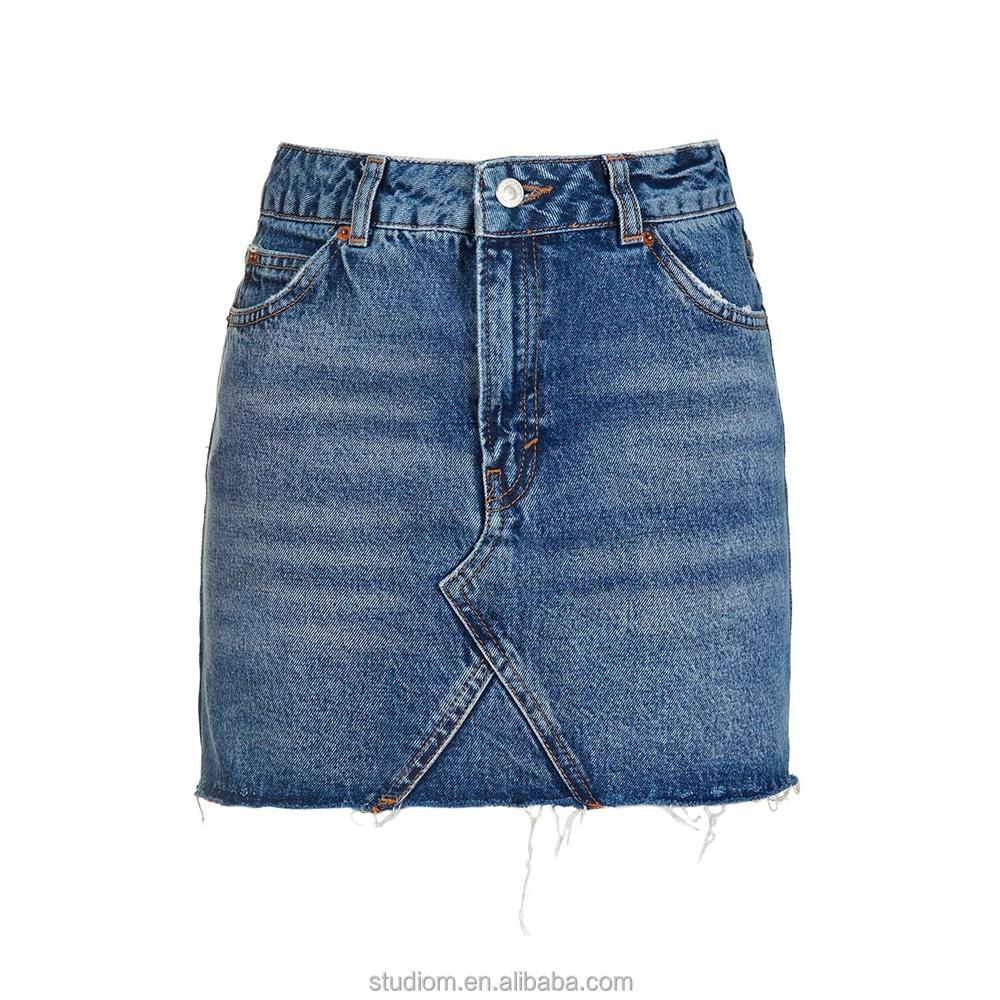 76bf78525 Venta al por mayor fabricantes faldas jeans-Compre online los ...