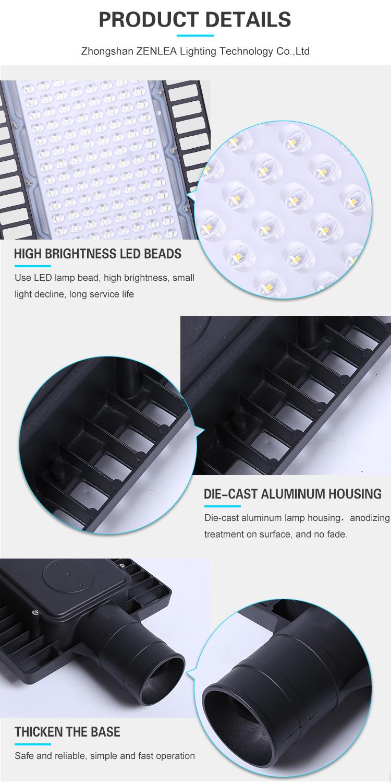 Wholesale Price Outdoor Ip65 Waterproof Aluminum 20w 30w 50w 100w 150w 240w Led Street Light