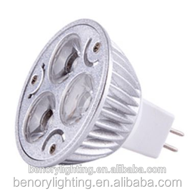Classic 12V 3*2W GU5.3 Dimmable CE ROHS MR16 LED Spotlight