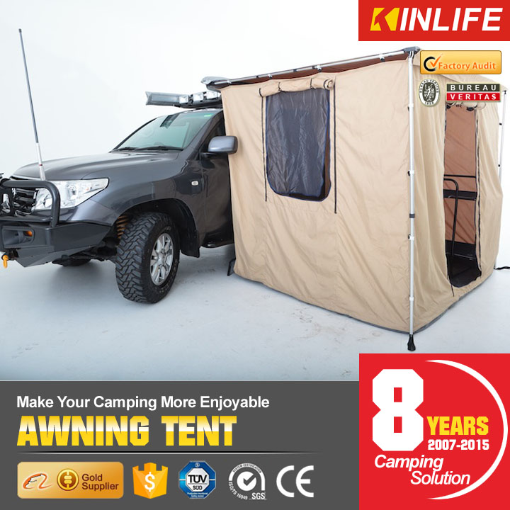 Double Layer Waterproof UV Proof Car Awning Tent