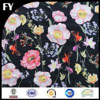 Whosale custom high quality digital lycra fabric sublimation printing