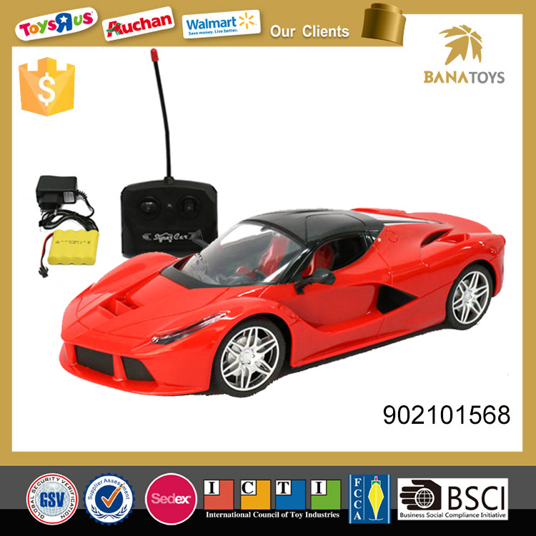 Interactive game toys fast rc car
