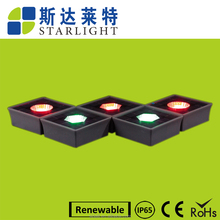 China product vierkante crystal zonne-energie baksteen glas cube voor greenway