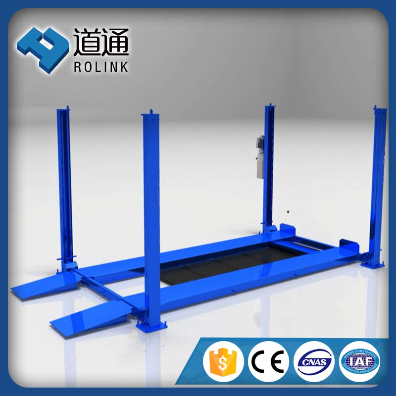 new compact outdoor movable car lift