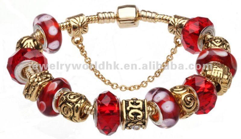 a1cdd881b5c3 conjunto europeo estilo Pandora plata encanto pulseras de perlas de joyería- Joyería de Plata .