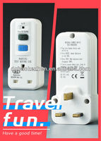 A30PW RCD travel adaptor,BS Standard