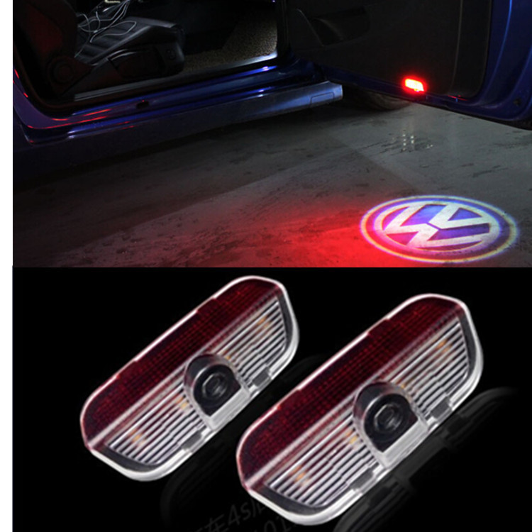 Polo5 Polo Hatchback 5 Door 5th Generation Polo: LED Car VW Door Courtesy Laser Projector Logo Ghost Shadow