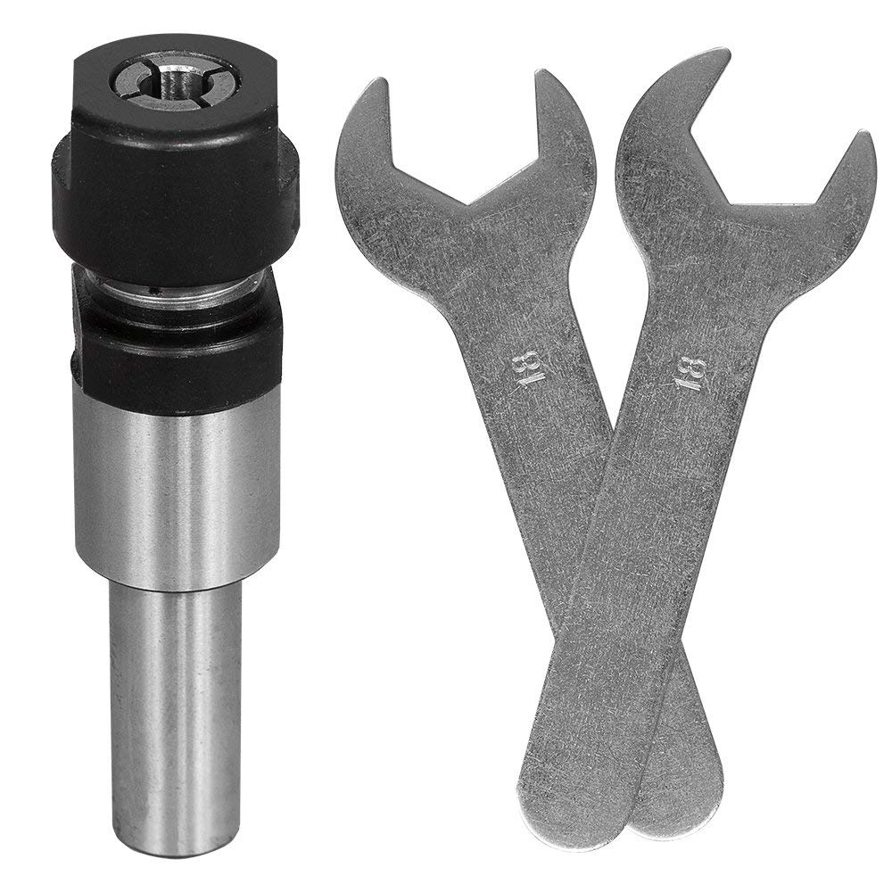 CMT 796.001.00 Router Collet Chuck Extension for 1//2-Inch Collets 1//2-Inch Shank