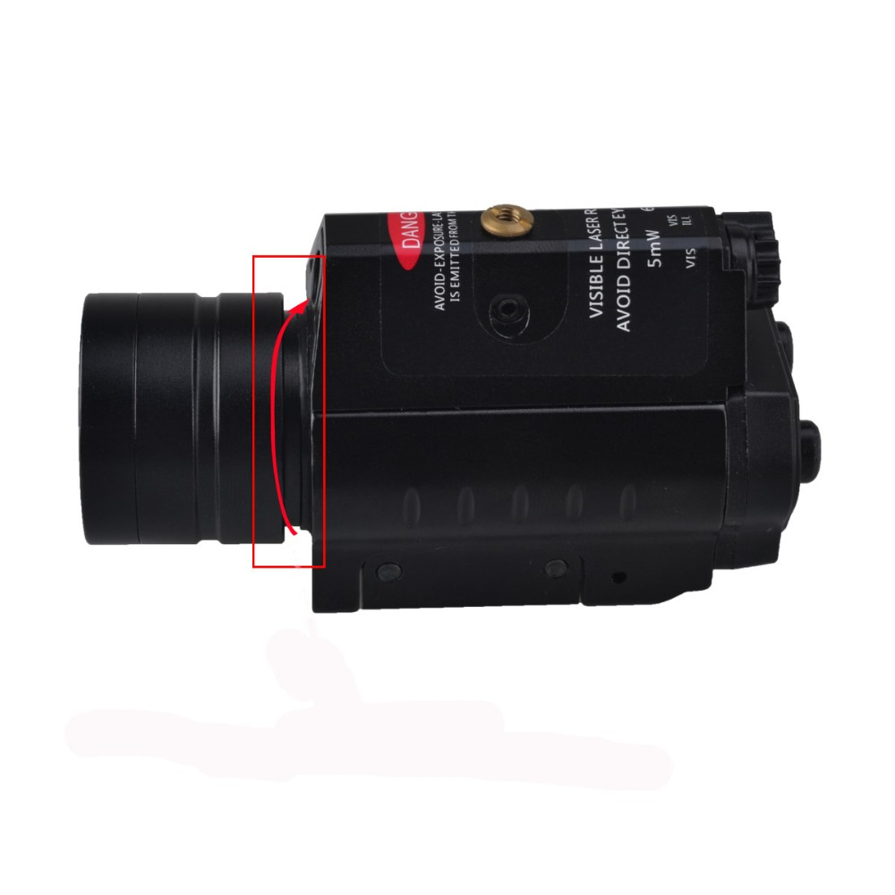 hot sale pistol led night vision weapon sight red laser pointers torch
