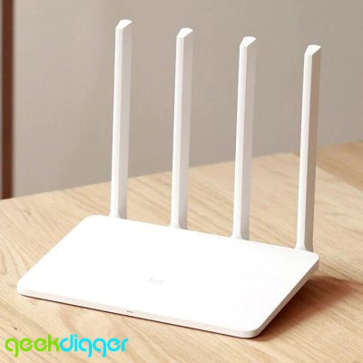 Original English Version Mi WiFi Router 3 - 128MB WHITE Dual Band MiWiFi APP Control with 4 Antennas