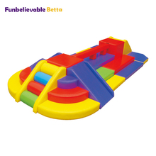 <span class=keywords><strong>Baby</strong></span>'s commerciële <span class=keywords><strong>indoor</strong></span> <span class=keywords><strong>speeltuin</strong></span> gebied foam padded apparatuur peuter crawl training speelgoed soft play frames