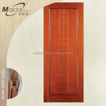 Used interior solid nyatoh wood doors in Malaysia
