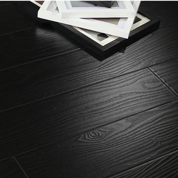 Black U Groove 12mm Hdf Wood Laminate Flooring Buy Black Laminate