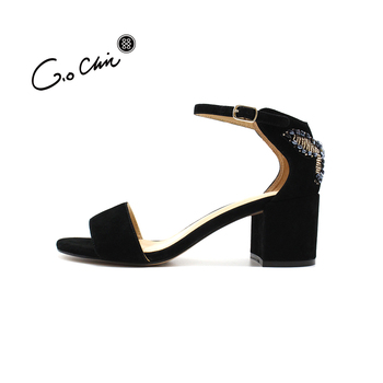 c7ebcec356b3 Design Latest Elegant Ladies Butterfly Shoes Summer Open-toe Chunky Leather  Sandals