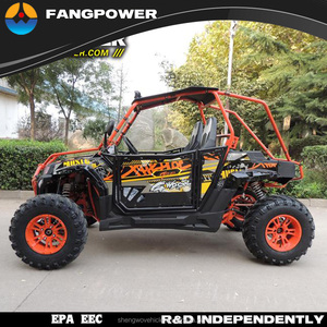 2 seat 4 wheel motorcycles, 400cc utv, cvt transmission 4x2 off road utv