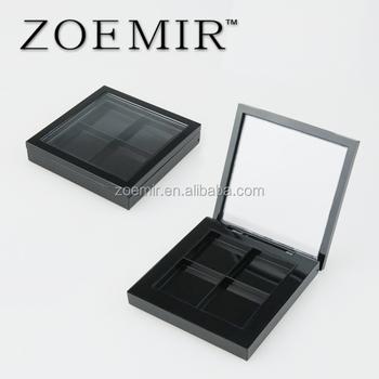 Square Mac Compact Powder Case Magnet 4 Color Design With Window - Buy  Compact Powder Case,Mac Compact Powder Case,Square Mac Compact Powder Case