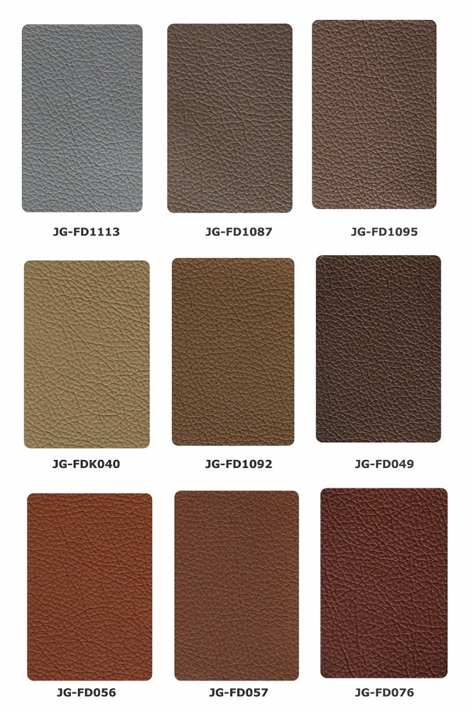 High quality embossed litchi grain sofa leather 0.5mm~2.0mm for sofa, furniture, chair and etc