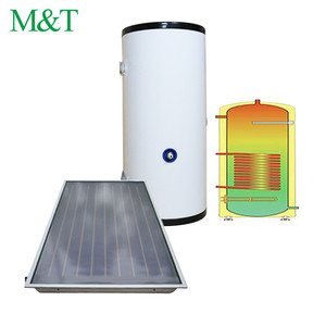 M&T 50-1000 liter solar hot water storage tank 300l split solar tank system