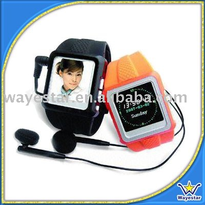 Silicon Mp4 Watch