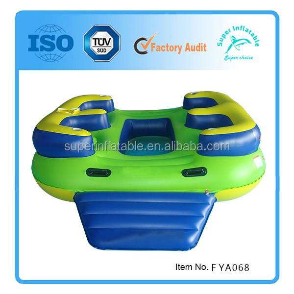 4 personne gonflable oc an float eau le flottante installations de loisirs a - Ile flottante gonflable ...