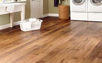 Golden Teak Wood Parquet Engineered Flooring With Extravagant Rosewood