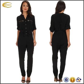 0f1ba32cc Oem Wholesale Clothing Long Sleeve Flat Collar Tracksuit Onesie ...